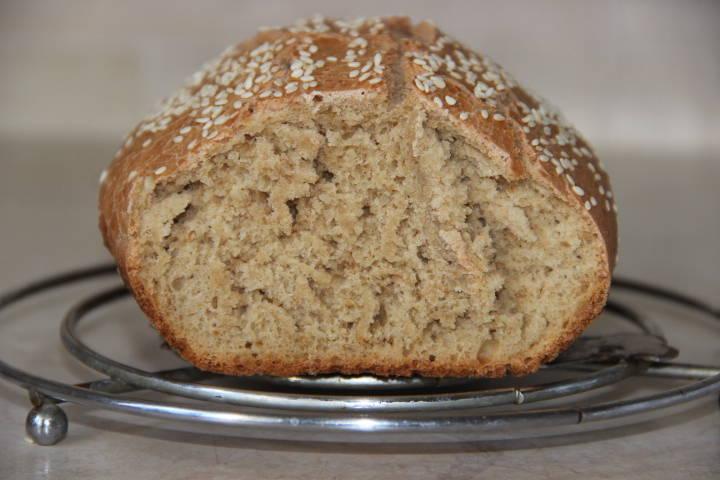 хлеб на хмелевой закваске в духовке
