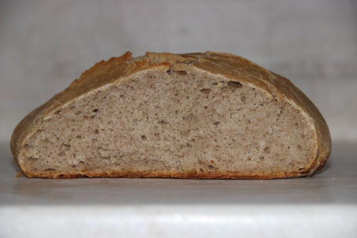 гречневый хлеб на закваске в духовке