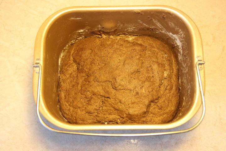 тесто для ржаного хлеба в духовке