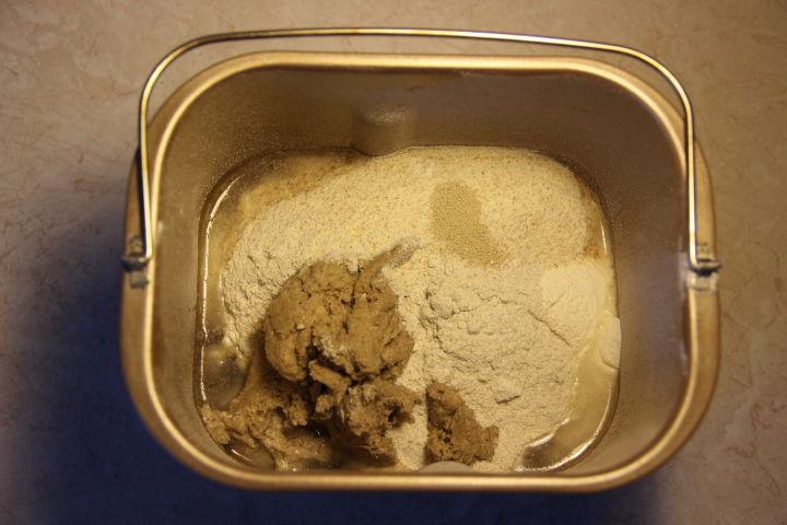 хлеб из трех сортов муки