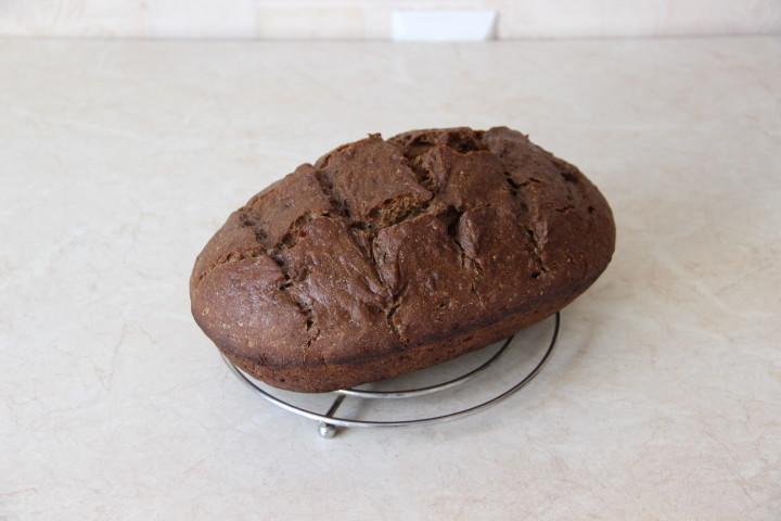 хлеб из льняной муки в духовке