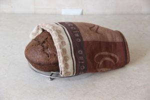 льняной хлеб в духовке