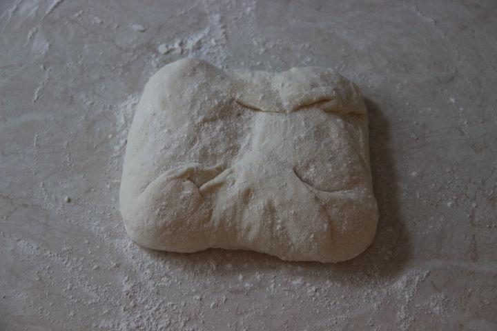 тесто для классической чиабатты