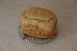отрубной хлеб в хлебопечке с морковью