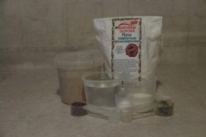 продукты для цельнозернового хлеба в духовке