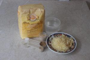 продукты для чесночного хлеба