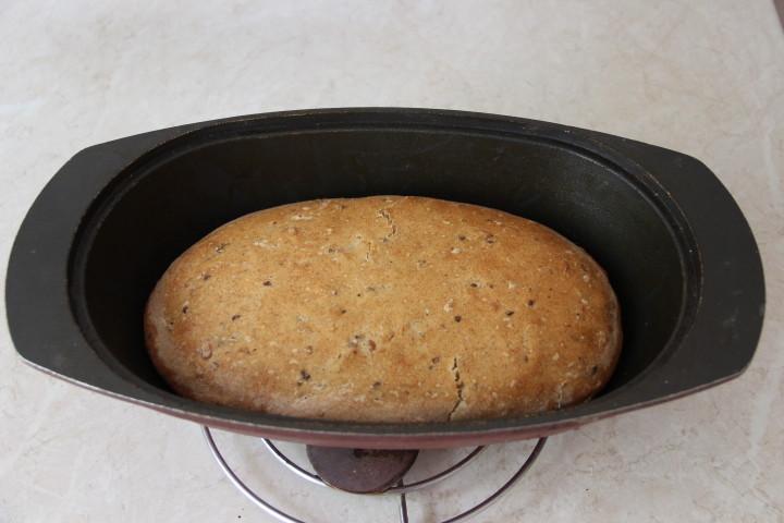 хлеб с орехами в духовке