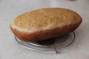 ореховый хлеб в духовке