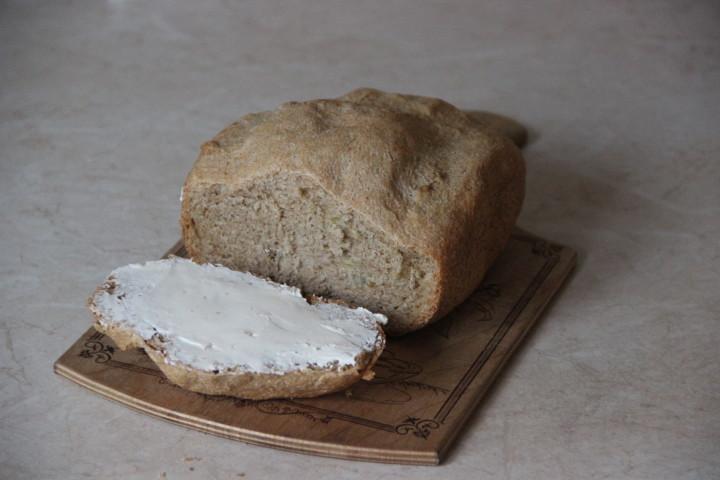 цельнозерновой хлеб с семенами тыквы