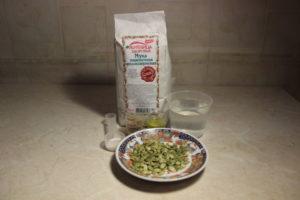 продукты для цельнозернового хлеба с семечками