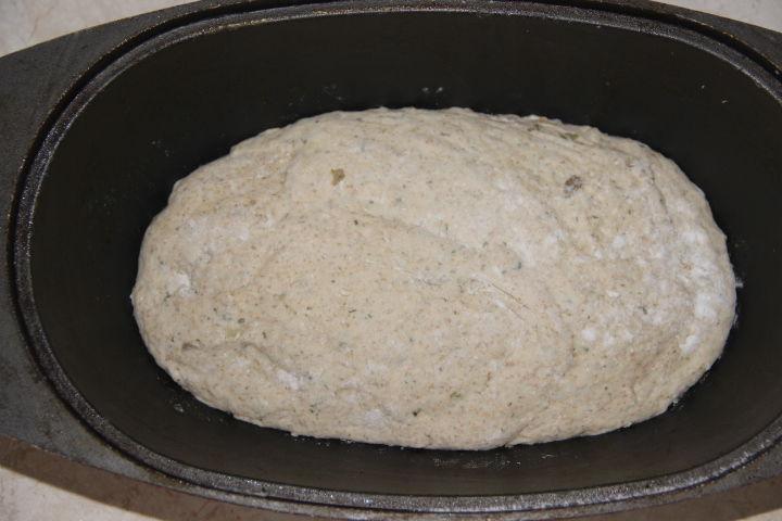 тесто для деревенского хлеба