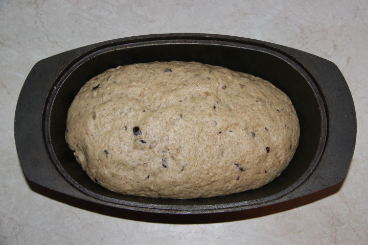 тесто для пшенично-ржаного хлеба
