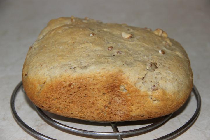 овсяный хлеб с проростками в хлебопечке